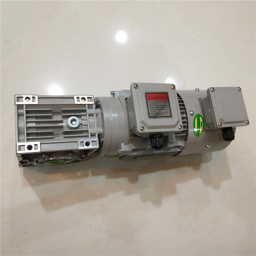 变频电机匹配涡轮蜗杆减速机RV063/15-YVF2-90L-4-1.5KW