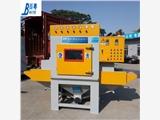 深圳自動噴砂機廠家 寶安小型槽鋼自動噴砂機圖片