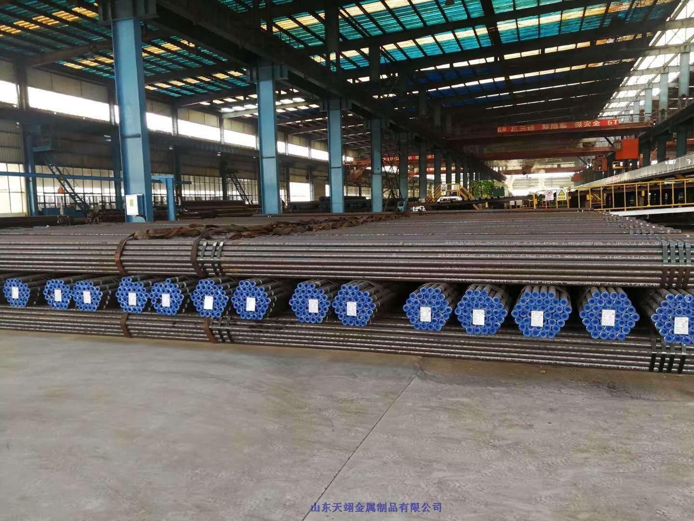 山東東營市廠家供應薄壁工程用無縫流體管廠家直銷