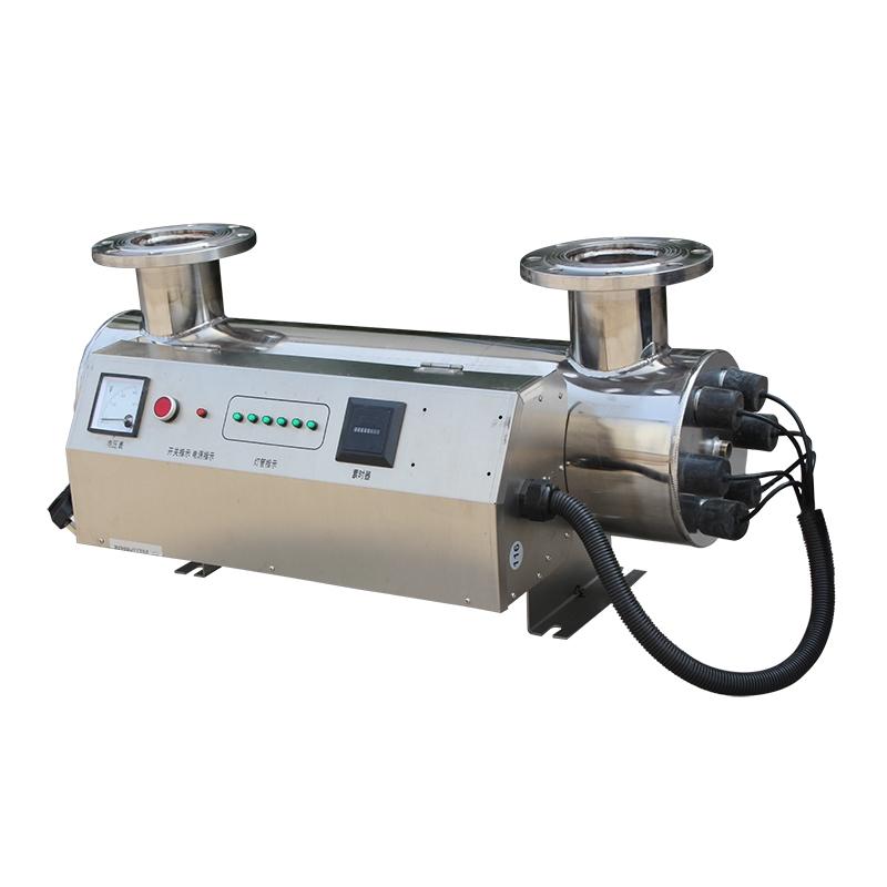水消毒設備我們廠家供應紫外線管道式消毒器