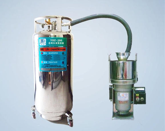超低溫液氮粉碎機KCW-A