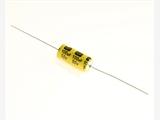 穿心雙極性電解電容器-黃色套管絕緣