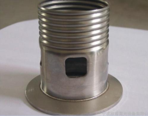太原白銅屏蔽罩-精密激光焊接加工中