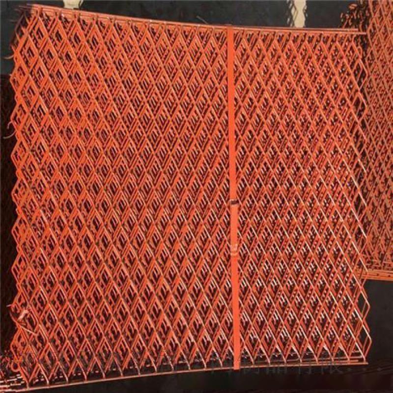 建筑外架防护钢板网  菱形孔脚踏网 冲孔钢板钢笆网片亚奇加工定制