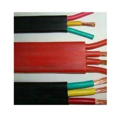 供应铜芯抗拉耐磨扁平电缆YBF-3*70+1*35+2*4