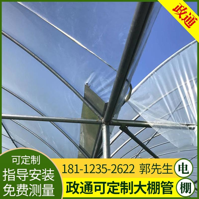 連棟溫室大棚陜西寶雞4分6分8分大棚鋼管信譽保證