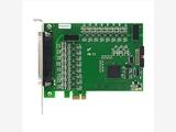 PCIe2313 光电隔离I/O卡,16路光隔离开关量;16路光隔离输出