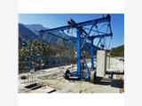 1到3噸的護欄臺車 自行走的臺車 橋梁護欄臺車的款式