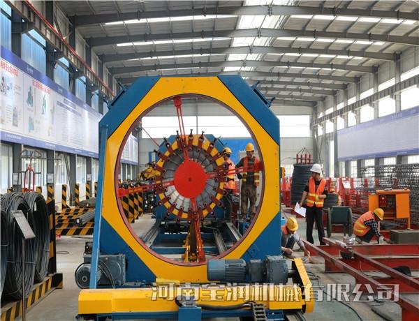 湖北省半自动钢筋笼滚焊机【数控弯圆机】