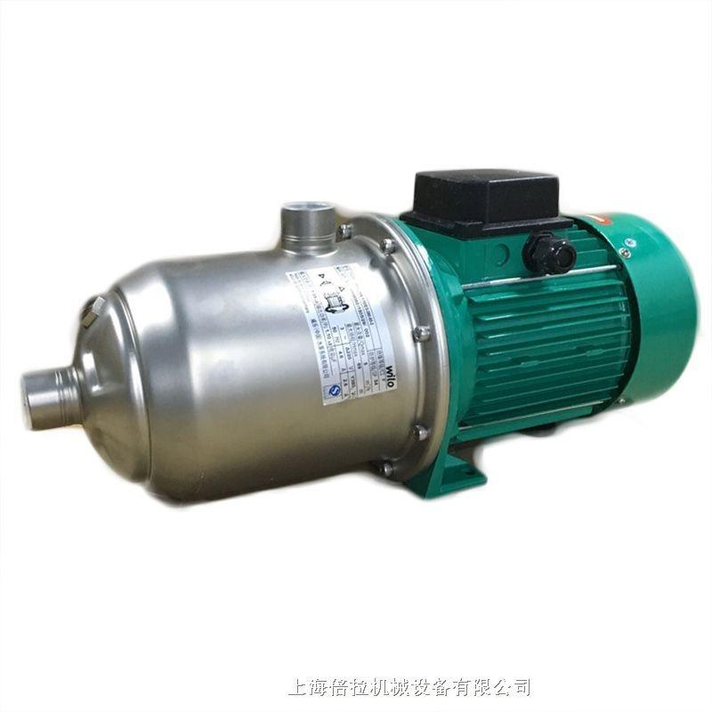 德國Wilo威樂增壓泵MHIL802大功率家用熱水暖氣泵管道暖氣循環泵