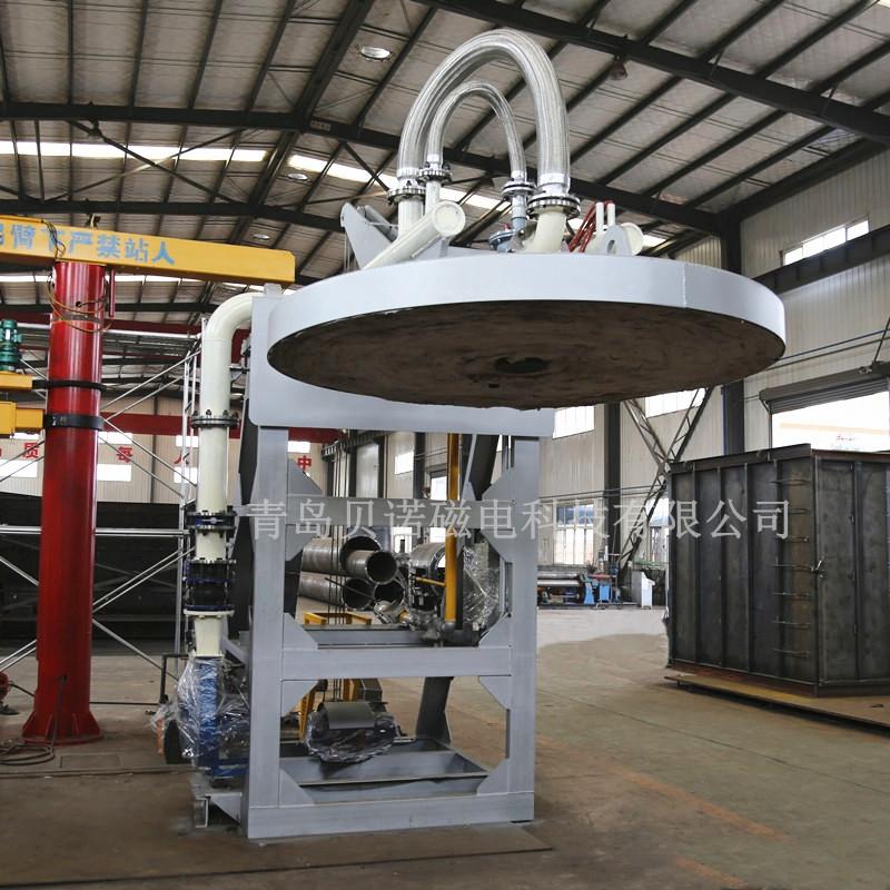 山东厂家供应高效节能翻盖式烤包器