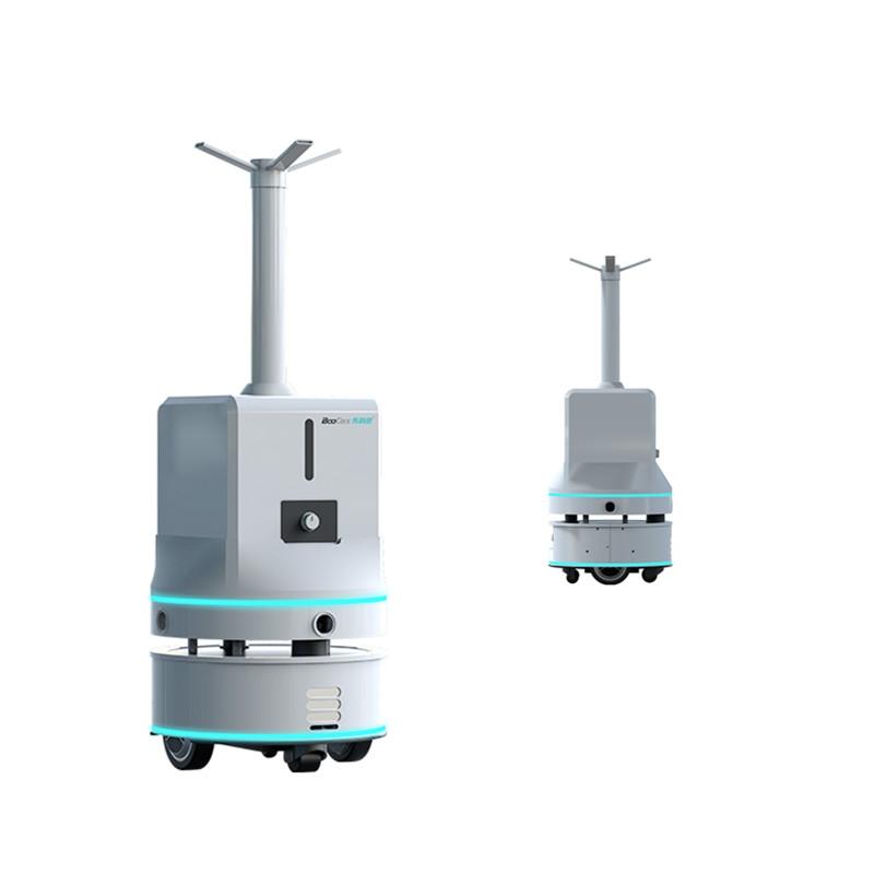 消毒機器人BKS-ST-180B酒店自動消毒殺菌機器人布科思工廠直銷