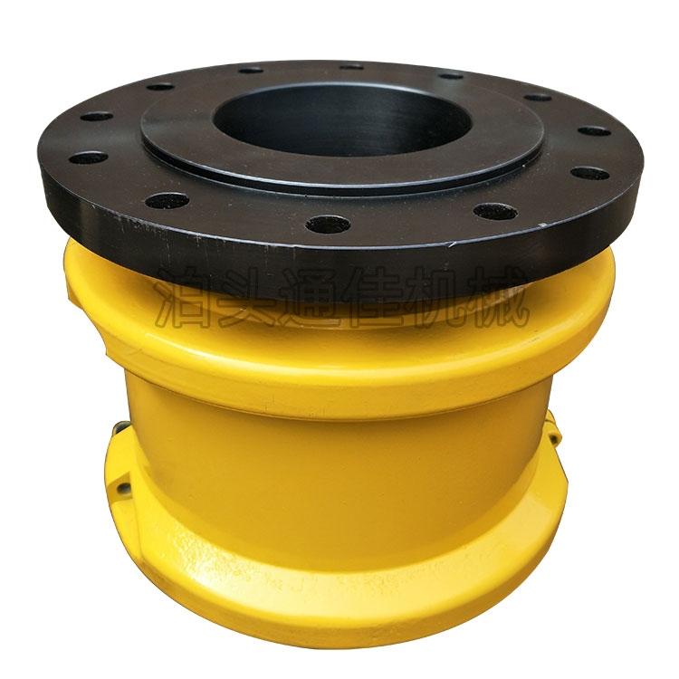 按需定制JSP型帶制動盤蛇簧聯軸器