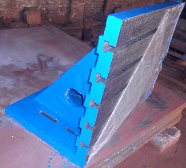 濟南鏜床輔助彎板工作臺曲錚直角靠板T型槽彎板定做
