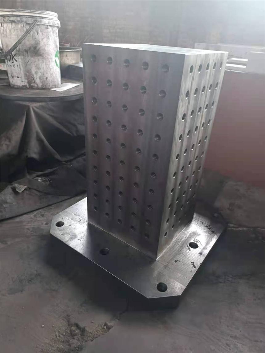 贵州黔南800*800铸铁方箱工装夹具