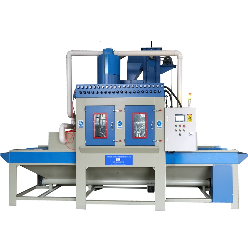 不锈钢全自动喷砂机生产厂家佛山喷砂机