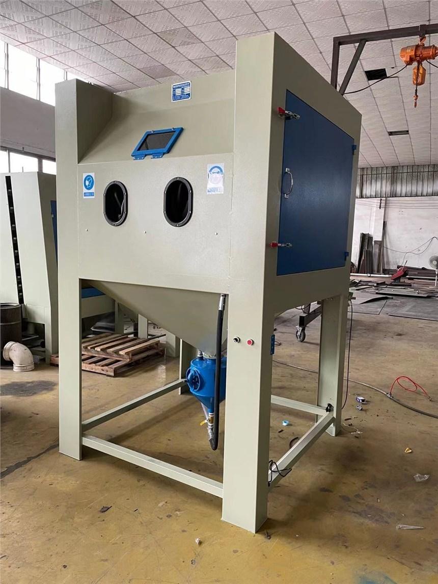 水槽高压手动箱式喷砂机无尘加压喷砂机