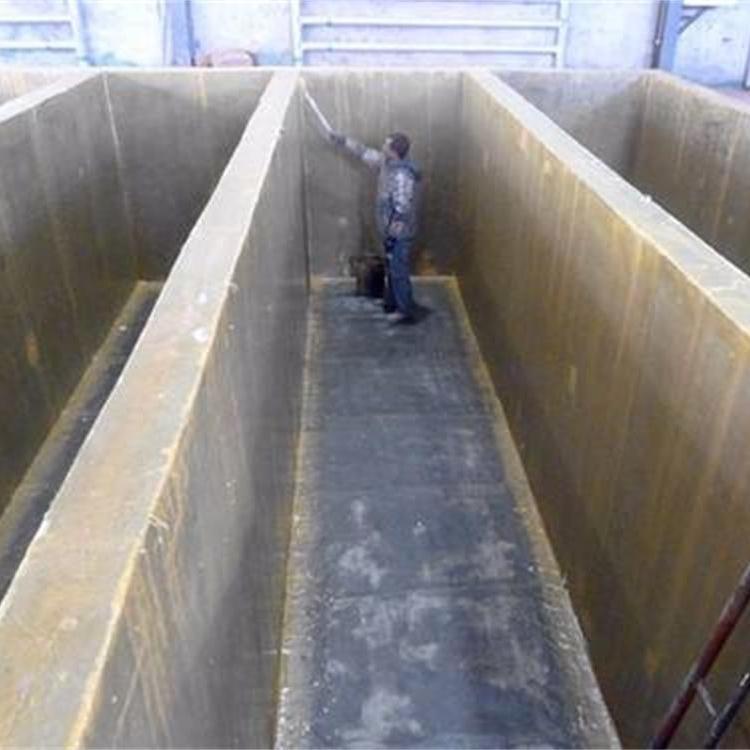山東污水池環氧樹脂玻璃鋼防腐廠家工程承包