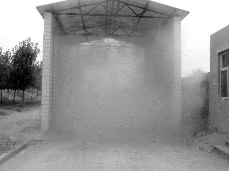 四川專業定做噴霧消毒設備人員消毒通道除臭消毒系統大量現貨熱銷