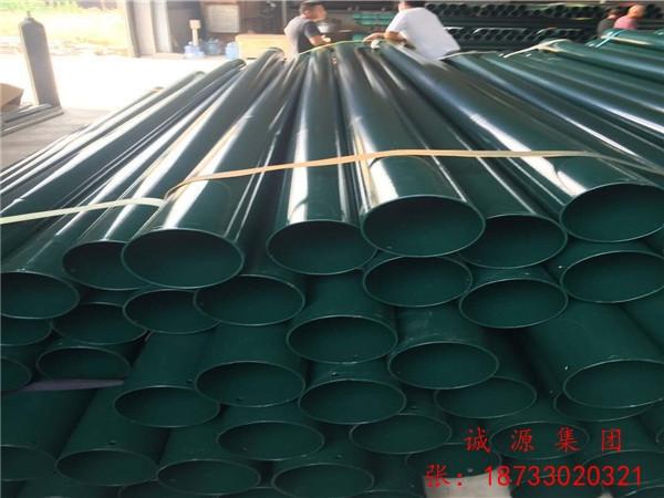 浙江杭州热浸塑钢质电缆保护管含税价格-规格型号