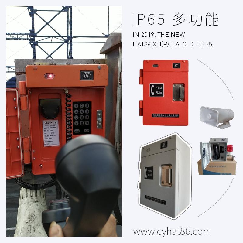 防爆電話 HAT86(XIII)P/T-F 擴音抗噪聲電話機