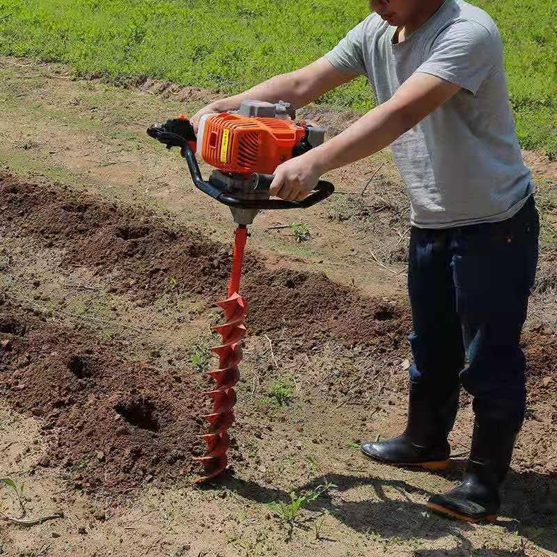 立樁挖坑機植樹打坑機鋁合金齒輪箱