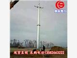 电力钢杆 35KV钢管杆基础打桩 双回路终端电力钢杆 终端钢管杆