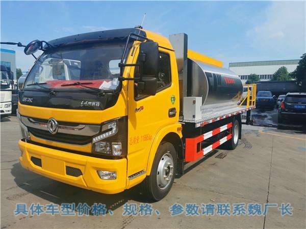 江苏盐城市8吨粘层油沥青洒布车供应