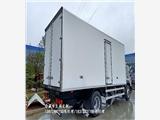 福田G7面包式国六冷藏车_9米6厢长冷链车挂靠上户