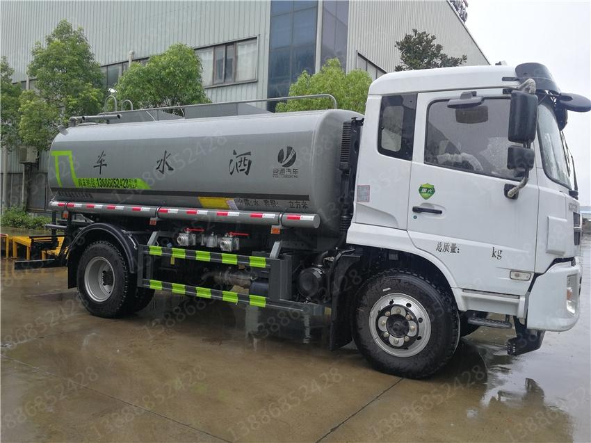 福田领航12方热水车东风5方浴池送水车价格