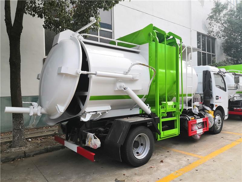 中聯10噸餐廚垃圾車銷售點生產廠家