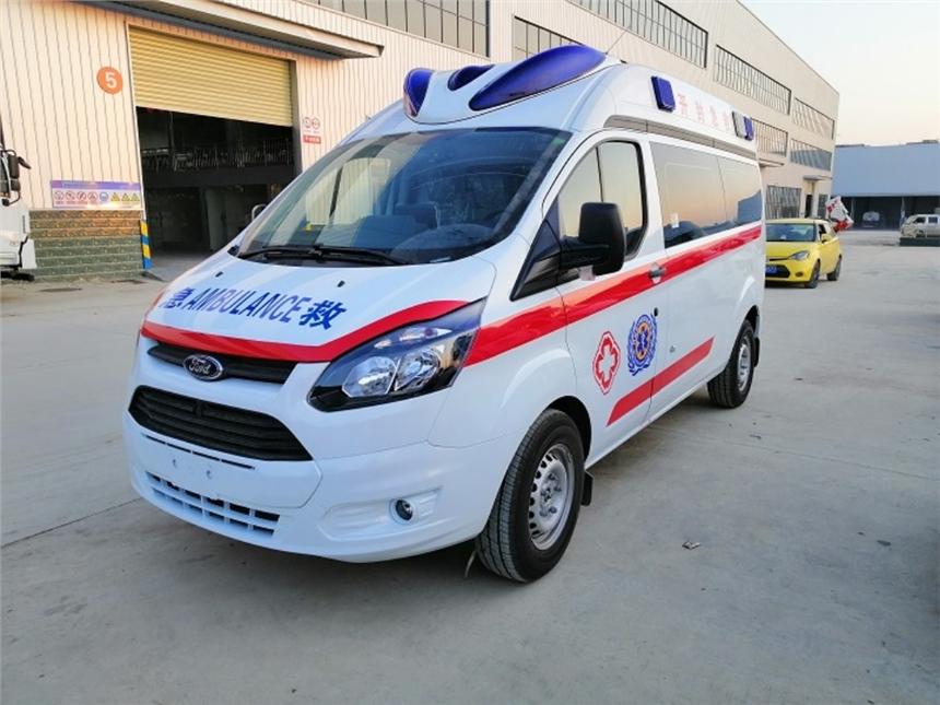 荊州福特V348新世代救護車價格