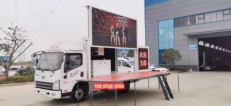 嘉興led廣告宣傳車多少錢_可配送