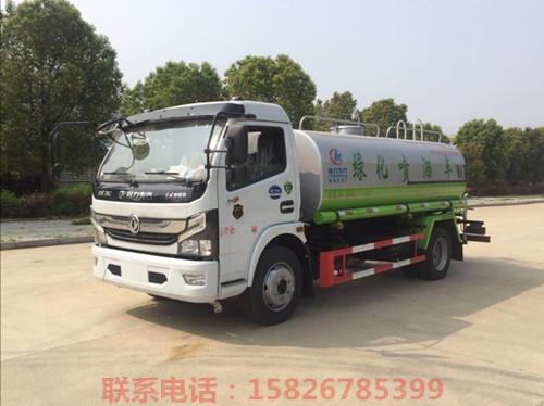 4噸不銹鋼飲用水配送車出口