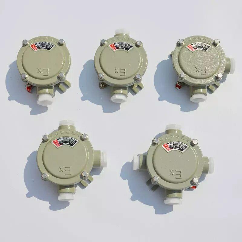 一通防爆接線盒-AH-G3/4-D防爆四通接線盒廠家直發