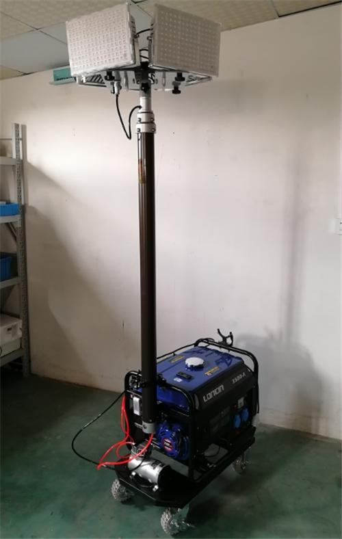 自發電升降移動照明車燈 大型移動式照明設備
