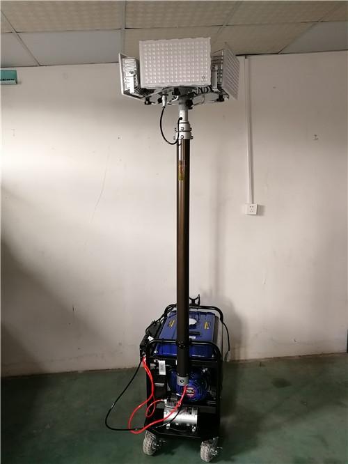 手推式應急升降照明設備 道路搶修發電升降燈