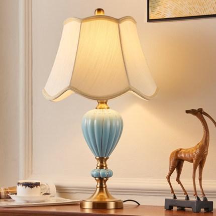 中式餐厅吊灯厂家定做 青花瓷灯具批发 现代中式台灯