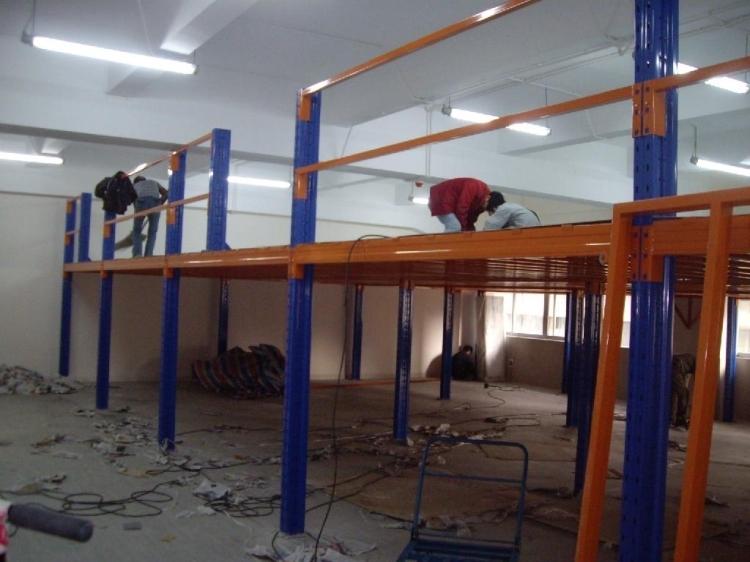阁楼平台集成组合办公档口隔层钢制重型仓库库房货架