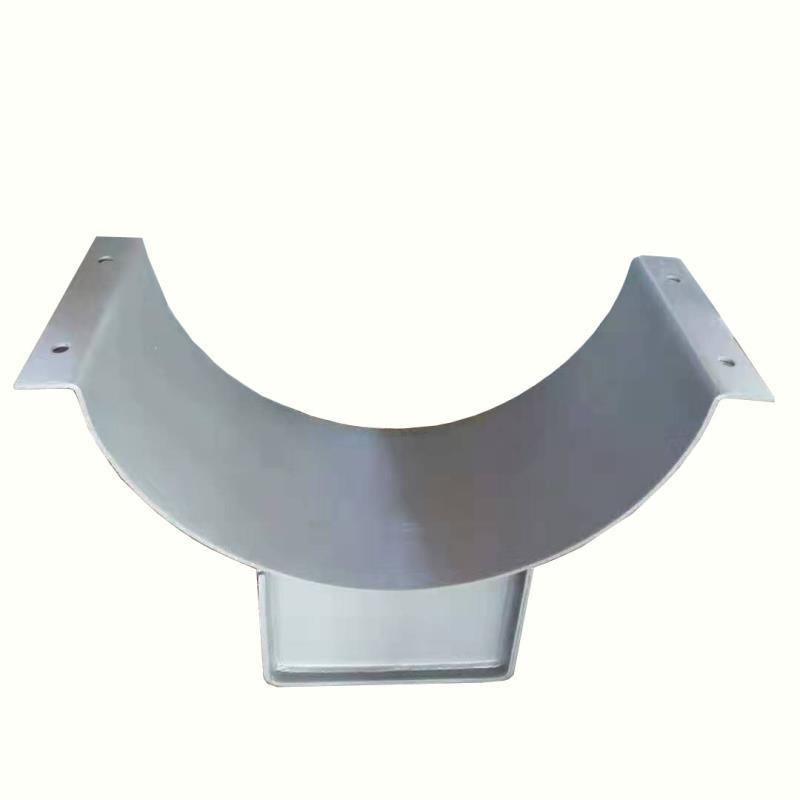 蒸汽管道滑動支架大型00管道坐式管托蛭石隔熱滑動管托導向固定管
