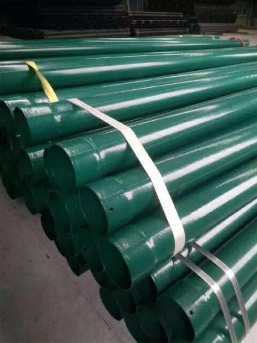 欽州DN175-DN200涂塑電纜穿線保護鋼管N-HAP廠家發貨