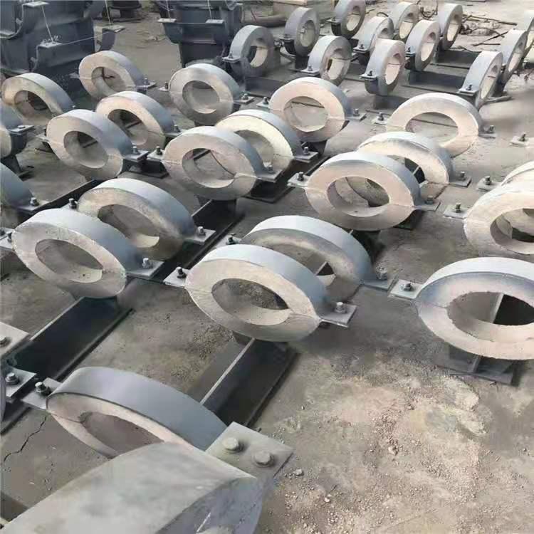 四川DN200蛭石隔熱管托 固定管托 來圖加工