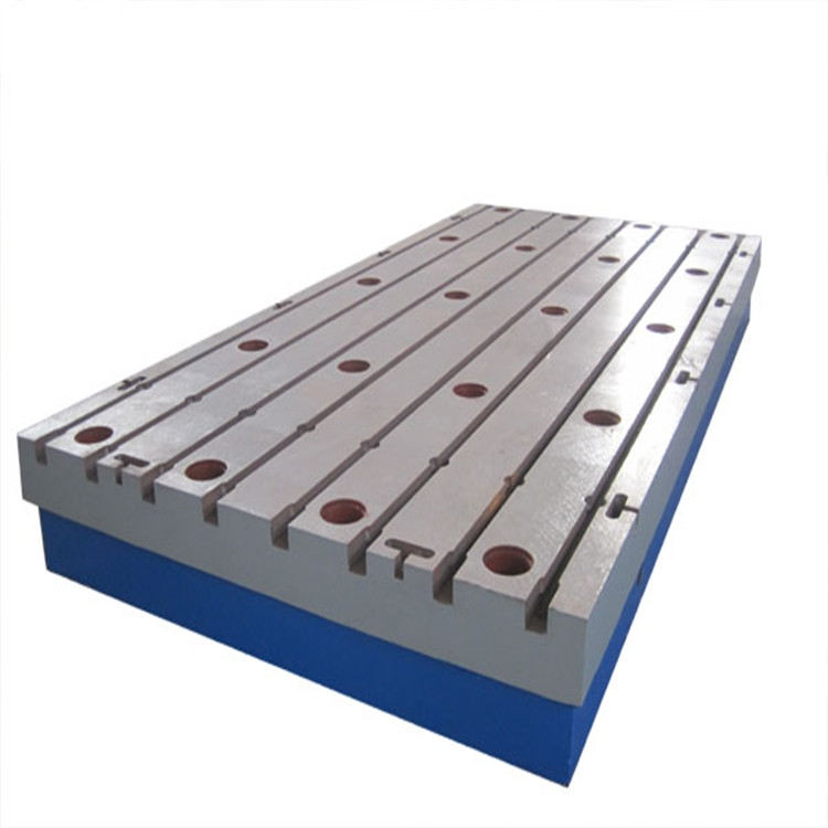 优质铸铁平台/铸铁平板/铸钢平台/钳工工作台/铁地板/汽车实验台