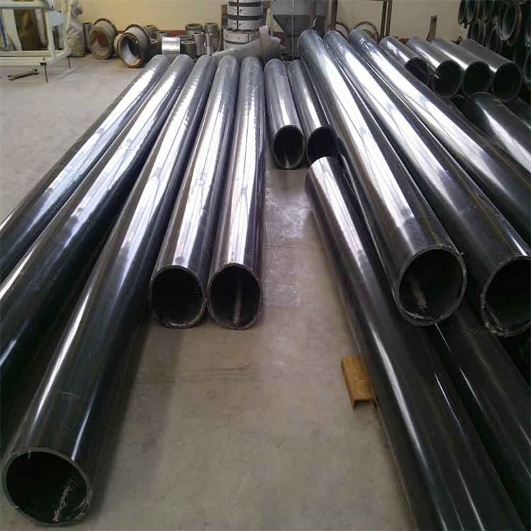 河南梓哲鋼襯超高管超高分子量聚乙烯PE管河道疏浚用管低壓耐磨管