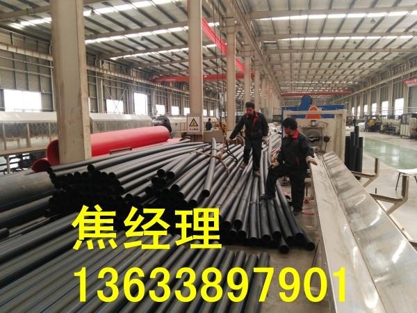 710mm白色PE抽沙管道生产厂家