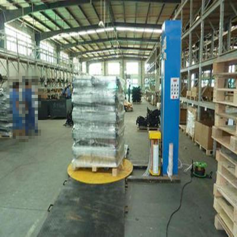 懸臂式薄膜纏繞機 陶瓷制品纏繞膜裹包機價格優惠
