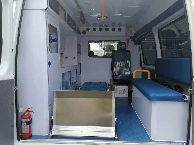 湖南奔馳威霆負壓救護型負壓救護車氣防救護車