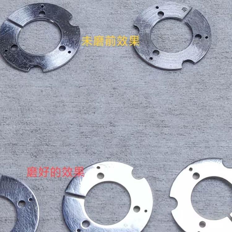 6063鋁合金薄片雙端面減薄研磨粗糙度18k超鏡面拋光代加工