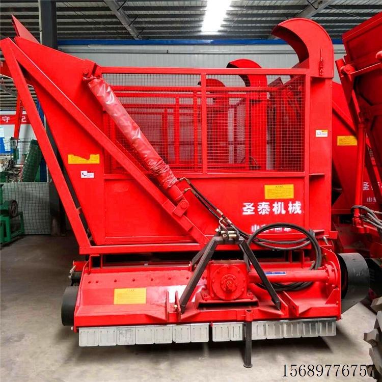 平凉秸秆回收机报价 圣泰牌多功能回收机厂家直销 秸秆回收机