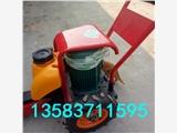 湖南张家界手推电动切桩机 卡箍式混凝土桩子切割机锯桩机DCQZ
